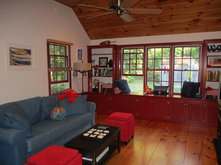 North Eastham Cape Cod vacation rental - Extra Family Room with Backyard View