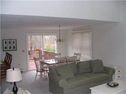 North Eastham Cape Cod vacation rental - Living Room/Dining Room