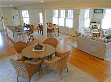 Mashpee New Seabury/Popponesse Cape Cod vacation rental - Bright space with many dining areas and windows facing the water
