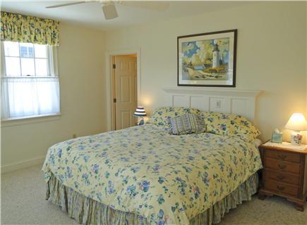 Mashpee New Seabury/Popponesse Cape Cod vacation rental - Main floor California King bedroom with private bathroom