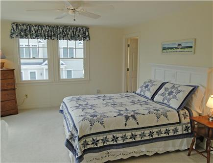 Mashpee New Seabury/Popponesse Cape Cod vacation rental - Upstairs Queen bedroom with private bathroom