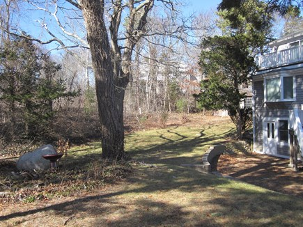 Pocasset Pocasset vacation rental - Complete privacy on my huge wooded lot 50 feet from the ocean!!