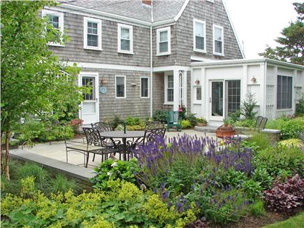 West Yarmouth Cape Cod vacation rental - Enjoy the garden terrace for relaxing, morning coffee and dining
