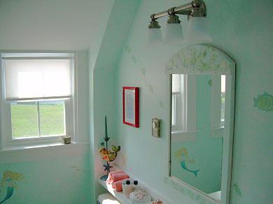 West Yarmouth Cape Cod vacation rental - Mermaid full bathroom upstairs with ocean views