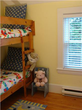 West Yarmouth Cape Cod vacation rental - Bunk bed room with custom mattresses