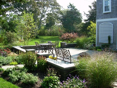 West Yarmouth Cape Cod vacation rental - Alfresco dining on the terrace