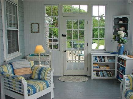 West Yarmouth Cape Cod vacation rental - Sun room, perfect for afternoon napping, leads to deck with grill