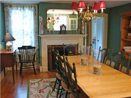 West Yarmouth Cape Cod vacation rental - Spacious dining room for 12  for those special Cape Cod meals