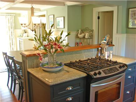 West Yarmouth Cape Cod vacation rental - Kitchen overlooks dining area