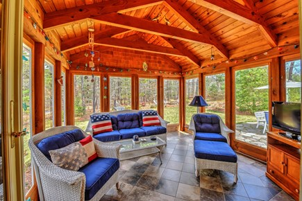 Centerville Centerville vacation rental - Sunroom brings the outdoors inside