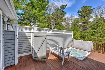 Centerville Centerville vacation rental - Deck off master bedroom with hot tub
