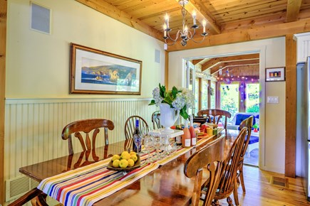 Centerville Centerville vacation rental - Kitchen, seats 10 people, and 3 bar stools.