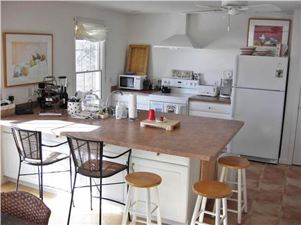 Wellfleet Cape Cod vacation rental - Large breakfast bar, great open cooking space