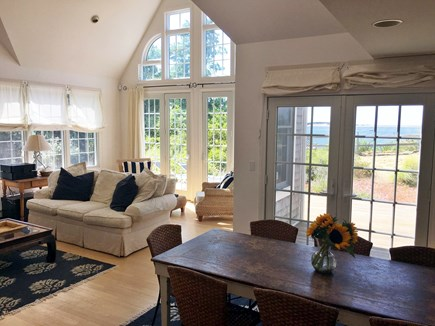 Wellfleet Cape Cod vacation rental - Oversized windows provide water views from every window