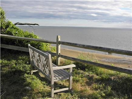 Wellfleet Cape Cod vacation rental - Morning coffee, watch sailboat races in harbor