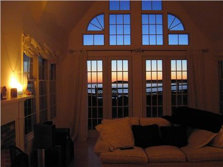 Wellfleet Cape Cod vacation rental - Sunset views from every room