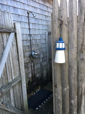 West Dennis Cape Cod vacation rental - Enclosed spacious outside shower