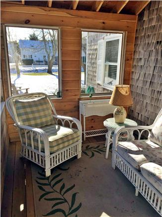 West Dennis Cape Cod vacation rental - Screened in porch