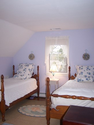North Chatham Cape Cod vacation rental - One of two twin bedrooms