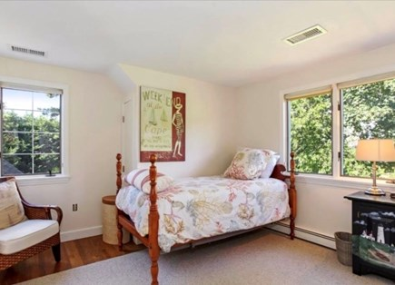 North Chatham Cape Cod vacation rental - Twin Bedroom (second bed on other side of room).  :)