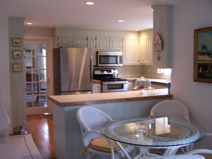 North Chatham Cape Cod vacation rental - Kitchen Open to Family Room with Breakfast Area