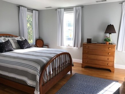 Chatham Cape Cod vacation rental - Queen Bedroom Faces South Lots of Cheerful Light!