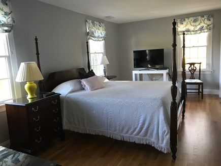 Chatham Cape Cod vacation rental - Master Bedroom;new Queen size iComfort bed & Flat Screen HDTV