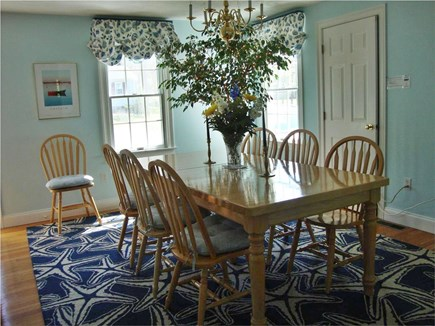 Chatham Cape Cod vacation rental - Formal Dining Room - Seats 8- extra Leaf. WirelessInternet