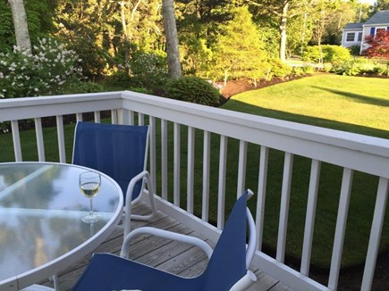 Chatham Cape Cod vacation rental - Deck 2019