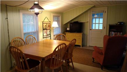 Wellfleet central located Cape Cod vacation rental - Dining/living room