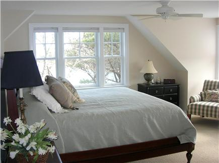Chatham Cape Cod vacation rental - Waterfront Master Bedroom has King Bed and Outstanding Views