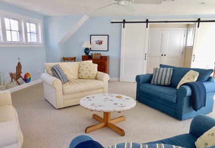 Chatham Cape Cod vacation rental - Second floor Family Room has extra guest accommodations.