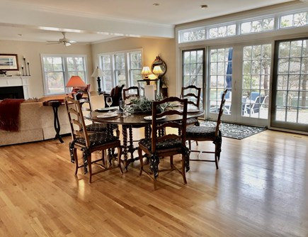 Chatham Cape Cod vacation rental - Or at your huge, Dining table!