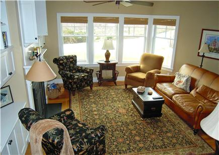 Chatham Cape Cod vacation rental - Den Has Fireplace, TV and Water Views Too!