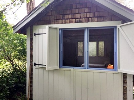 'The Back Woods,'  Wellfleet Cape Cod vacation rental - Separate studio with double and twin bed