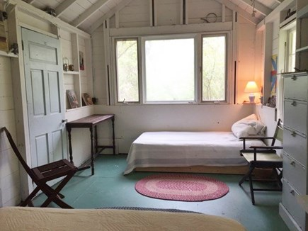 'The Back Woods,'  Wellfleet Cape Cod vacation rental - Single bed in studio.