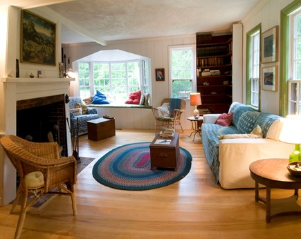 'The Back Woods,'  Wellfleet Cape Cod vacation rental - Living Room