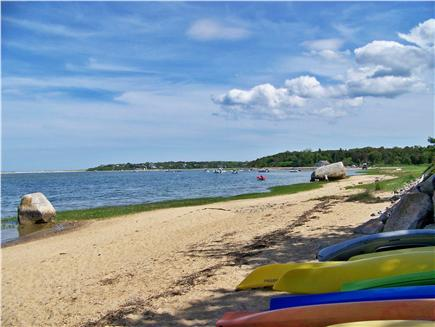 Tonset area of E. Orleans Cape Cod vacation rental - Town Landing Beach