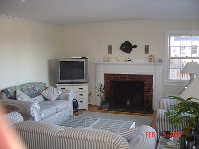Tonset area of E. Orleans Cape Cod vacation rental - Living room