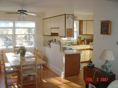 Tonset area of E. Orleans Cape Cod vacation rental - Kitchen/dining area