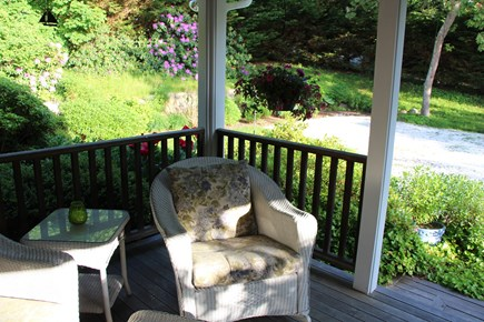 Chatham Cape Cod vacation rental - Relax on Mahogany Covered front porch