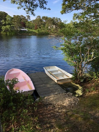 Chatham Cape Cod vacation rental - Our row boats on Ryder Pond.