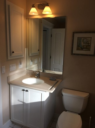 Chatham Cape Cod vacation rental - West bedroom's private bathroom, tub/shower not in view