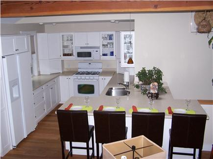Chatham Cape Cod vacation rental - Pristine Kitchen & Breakfast Bar with 4 counter height bar chairs