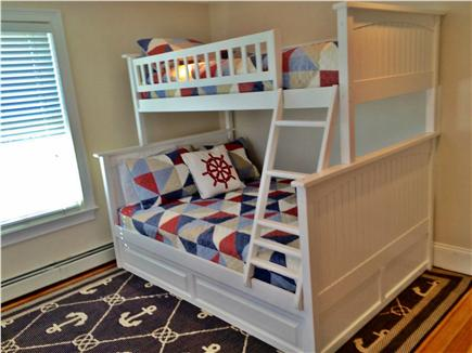 Hyannis Cape Cod vacation rental - Bunk Bed with Trundle