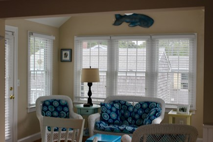 West Yarmouth Cape Cod vacation rental - Bright sunroom perfect for morning coffee