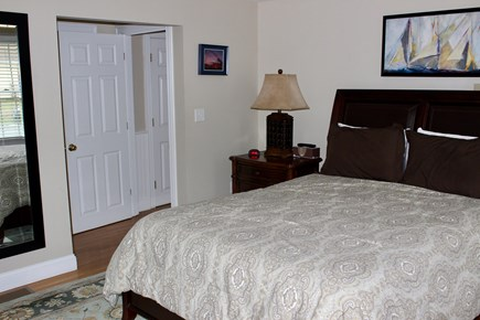 West Yarmouth Cape Cod vacation rental - First floor master suite