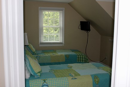 West Yarmouth Cape Cod vacation rental - Second bedroom with two twin beds