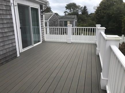 West Yarmouth Cape Cod vacation rental - New Trek decking