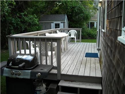 Falmouth Cape Cod vacation rental - Back Deck/Patio